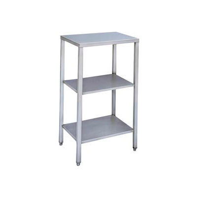 """Winholt ES/S1622 16 Gauge Equipment and Scale Stand 304 Stainless Steel - 22""""W x 16""""D"""