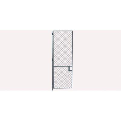 Husky Rack & Wire EZ Wire Mesh Partition Hinged Door - 3'Wx10'H