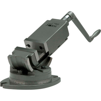 """Wilton 11704 Model AMV/SP-75 3"""" Jaw Width 1-5/16"""" Jaw Depth  2-Axis Precision Angular Vise"""