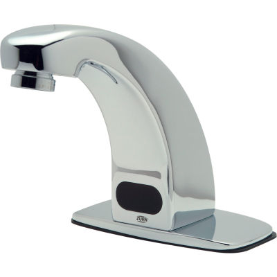 Zurn® Z6913-XL-CP4-MT AquaSense Battery Powered Lavatory Faucet, Mixing Tee, 4'' Cover Plate