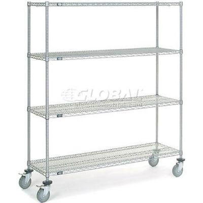 Nexelate® Wire Shelf Truck 60x18x69 1200 Pound Capacity