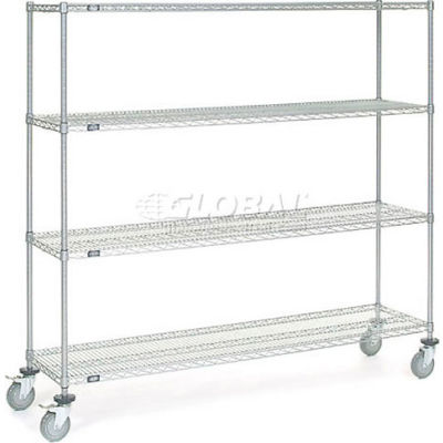 Nexelate® Wire Shelf Truck 72x18x69 1200 Pound Capacity