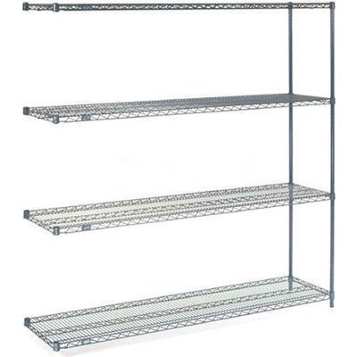 "Nexelon® Wire Shelving Add-On 60""W x 24""D x 63""H"