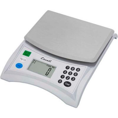 Balance de cuisine numérique de escali 136 Pana Baker, 13lb x 0,1oz./6000g x 1 g, acier inoxydable