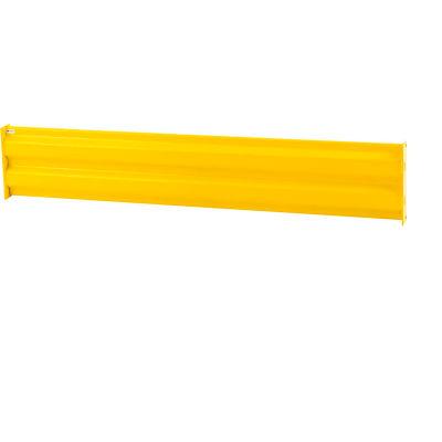 Cogan® Heavy-Duty Steel Rail Barrier, 3'L, Yellow