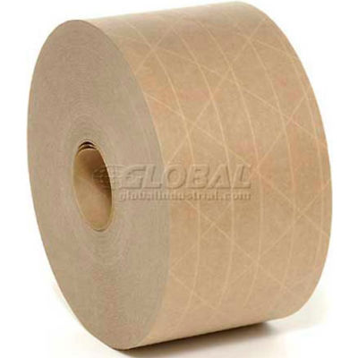 Holland Hi Tech Reinforced Water Activated Tape 72mm x 375' 5 Mil Tan - Pkg Qty 8